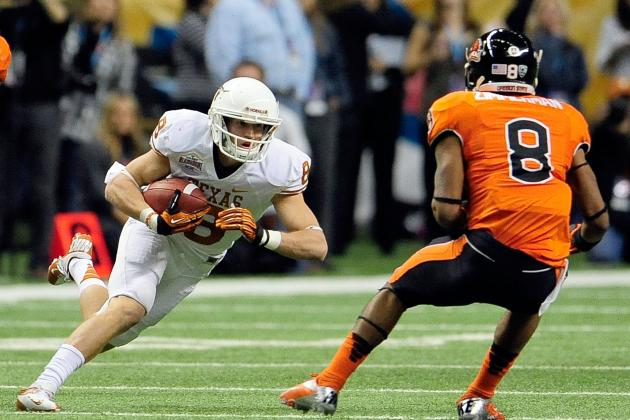 Texas Football: Projecting the Longhorns' 2013 2-Deep Depth Chart