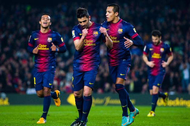 Barcelona 5-0 Cordoba: David Villa Is Back and Other Talking Points