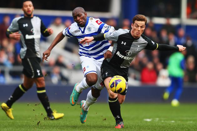 Tottenham vs. QPR: Player Ratings from Spurs' Disappointing Draw