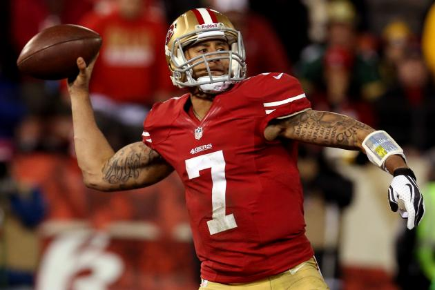Breaking Down Colin Kaepernick's Record-Setting Night