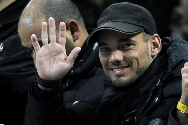 World Football Gossip Roundup: Wesley Sneijder, Cesc Fabregas, Radamel Falcao