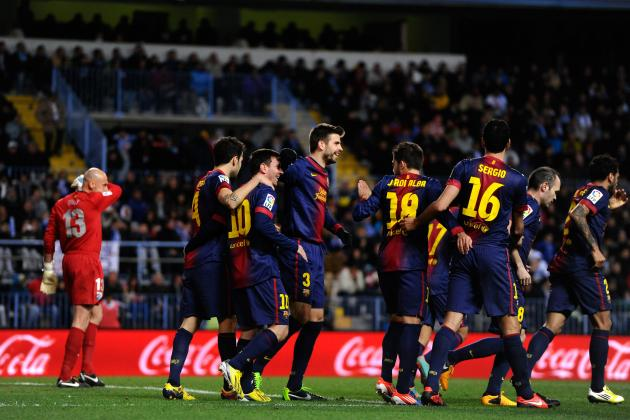 Barcelona vs. Malaga: 6 Points to Analyze