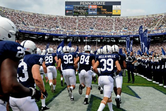 Penn State Football: Projecting Nittany Lions' 2013 2-Deep Depth Chart