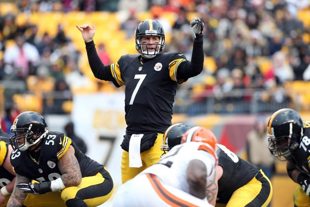 5 Ways the Pittsburgh Steelers Can Help Ben Roethlisberger Get Better in 2013