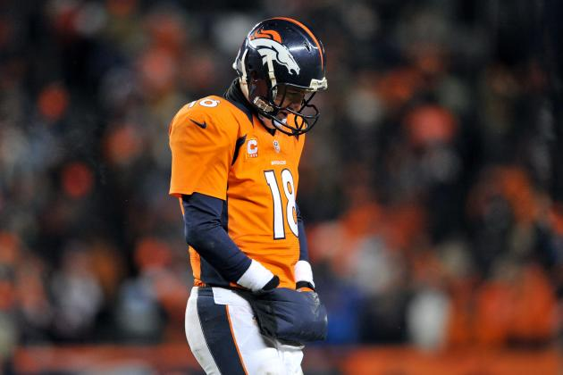 NFL Playoffs: What Is Really to Blame for Peyton Manning Losing in Postseason?