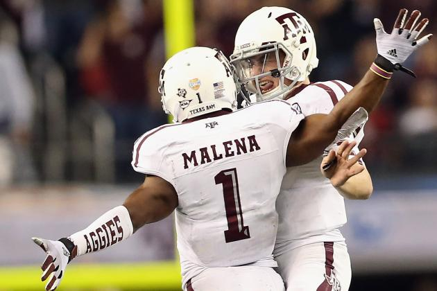 Texas A&M Football: Projecting the Aggies' 2013 2-Deep Depth Chart