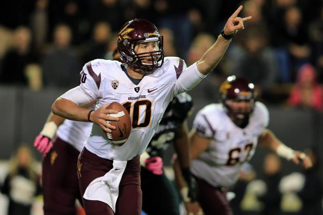 Arizona State Football: Projecting the Sun Devils' 2013 2-Deep Depth Chart