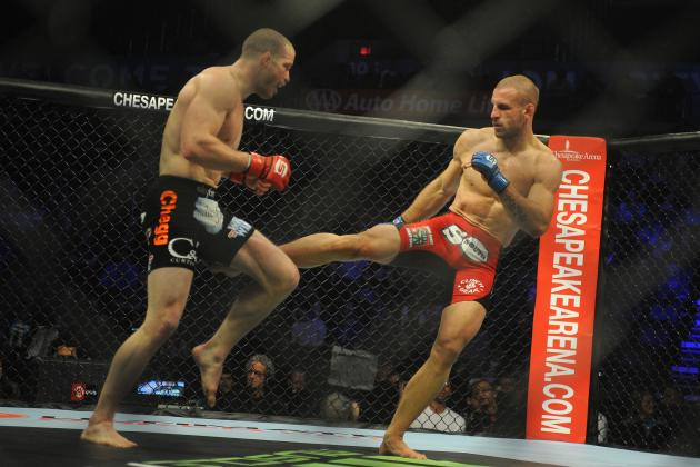 Nate Marquardt, Tarec Saffiedine and the 10 Most Brutal Leg-Kick Performances