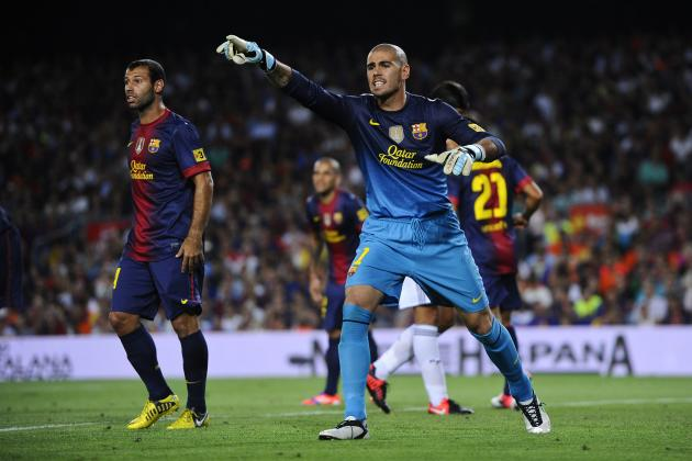 Love Him or Hate Him, Victor Valdes Is Not Leaving Barcelona