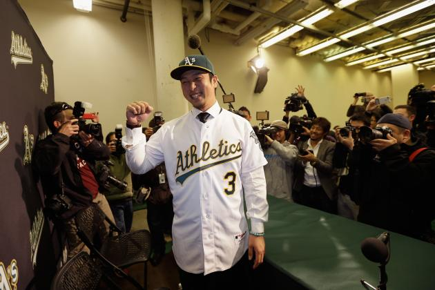 4 Reasons Hiroyuki Nakajima Will Win the 2013 AL Rookie of the Year Award