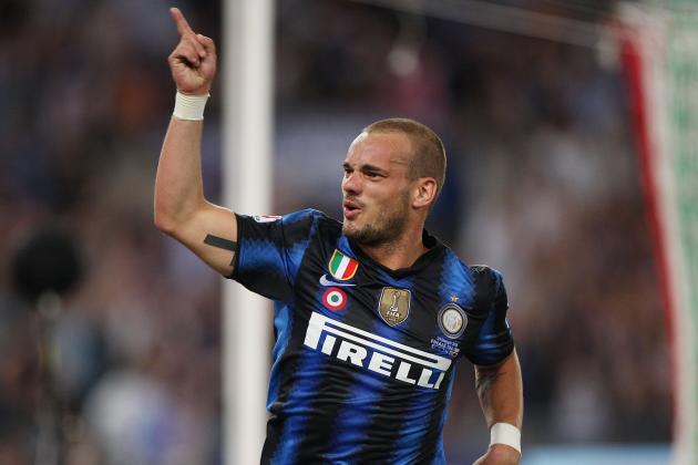5 Reasons Wesley Sneijder Would Take Tottenham to the Top 3