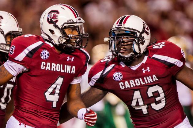 South Carolina Football: Projecting the Gamecocks' 2013 2-Deep Depth Chart