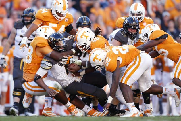 Tennessee Volunteers Football: 7 Most Hotly Contested Position Battles for 2013