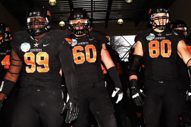 Oklahoma State Football: Projecting the Cowboys' 2013 2-Deep Depth Chart