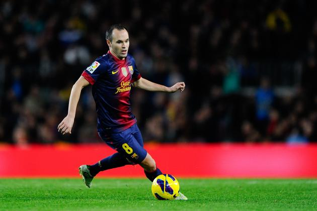 Andres Iniesta, Cesc Fabregas and the Top 7 Attacking Midfielders in La Liga