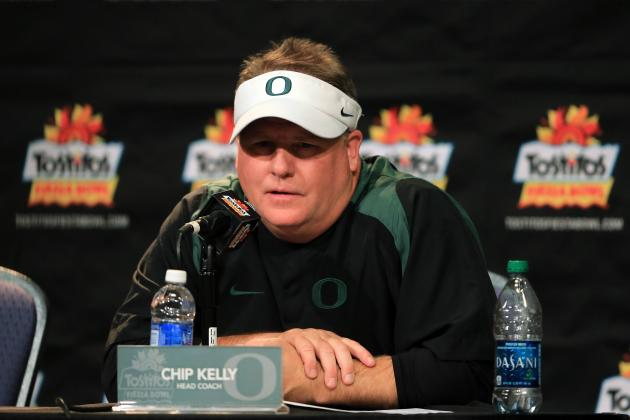Odds on Next Oregon Football Coach After Chip Kelly Bolts for NFL