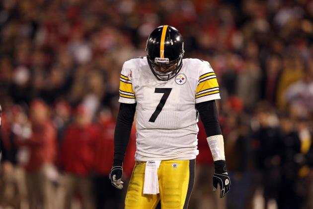 Pittsburgh Steelers Power Rankings: 7 Biggest Disappointments of 2012