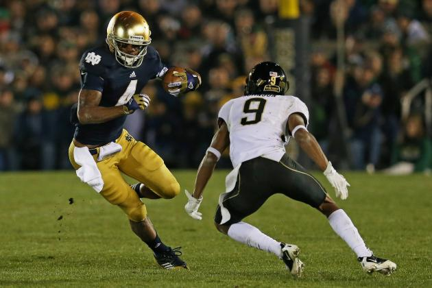 Notre Dame Football: Predicting Irish's Top 2013 Offensive Playmakers