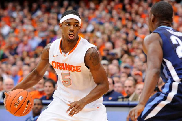 Syracuse Basketball: Projecting the Orange's Rotation for 2013-14 Season