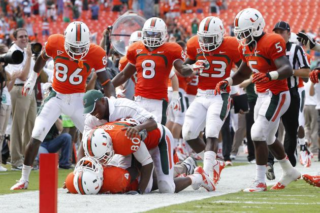 Miami Football: 7 Reasons the Canes Are a Lock for 2013 ACC Championship Game