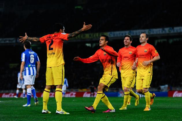 Rating the Barcelona Players Against Real Sociedad