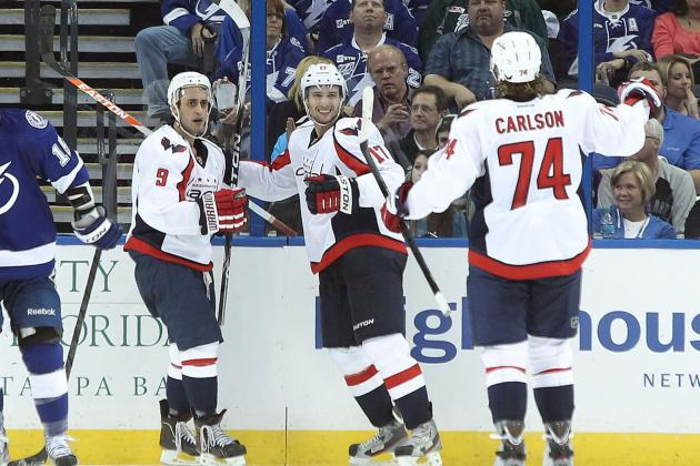 Washington Capitals: A Look at Their Depth Chart for 2013 NHL Season