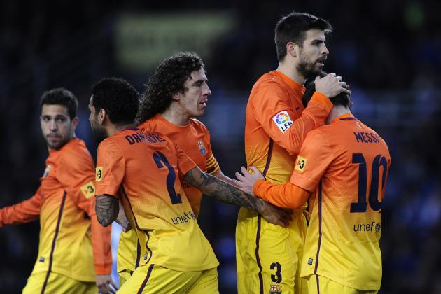 Real Sociedad vs. Barcelona: 5 Talking Points from Upset