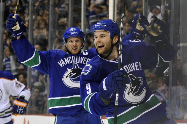 Predicting Stats for the Vancouver Canucks' Top 10 Players in 2013 Season