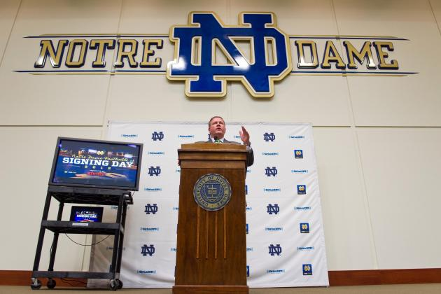 Notre Dame Football Recruiting: Tracking All 2013 Commits