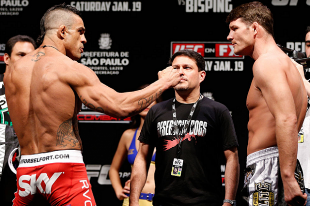 Bisping vs. Belfort Results: Round-by-Round Recap and Analysis