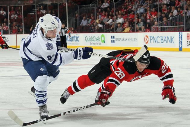 Predicting Stats for the Toronto Maple Leafs' Top 10 Players in the 2013 Season