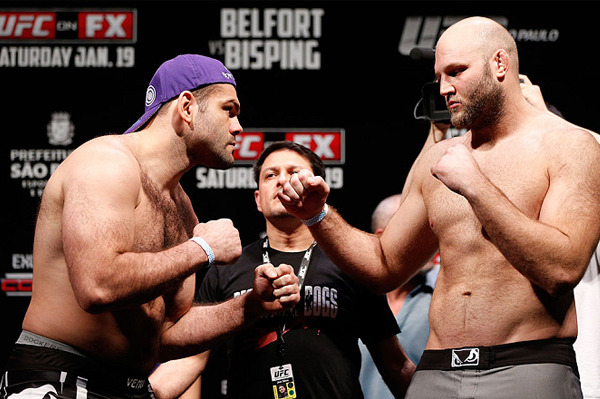 UFC on FX 7 Results: 5 Fights for Ben Rothwell to Take Next