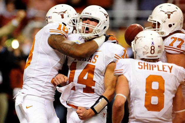 Texas Football: 5 Most Important Longhorns Returning for 2013