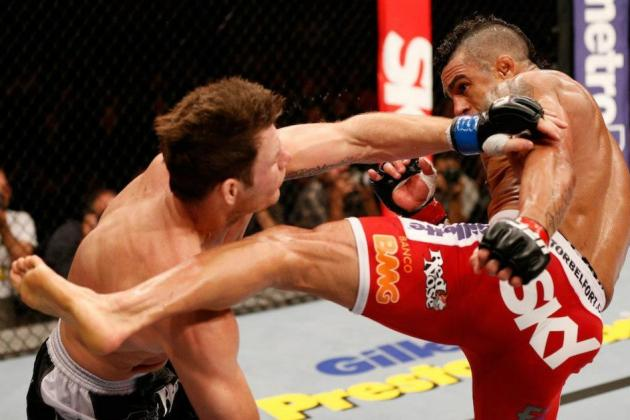Vitor Belfort and the 10 Biggest Head Kick Knockouts of the Past Year