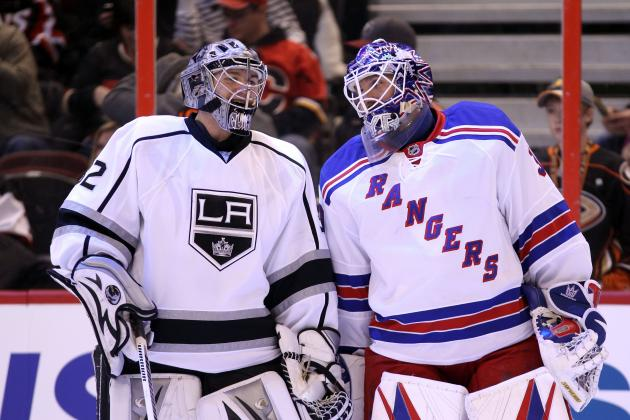 Power Ranking the Starting Goaltenders for the 2013 NHL Season