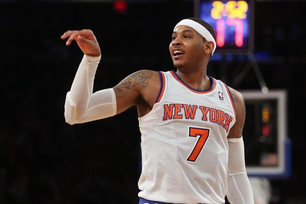 Breaking Down Carmelo Anthony's Case for NBA MVP
