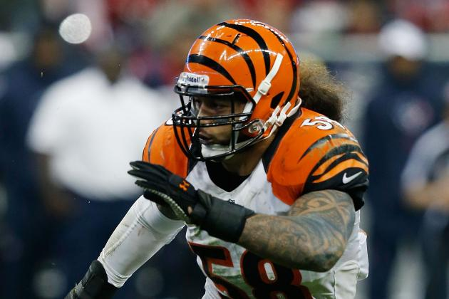 Cincinnati Bengals: 5 Starters the Bengals Must Replace in 2013