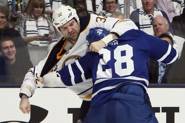 NHL Back and Brawling: A Look at Last Year's Best Fights to Prep You for 2013