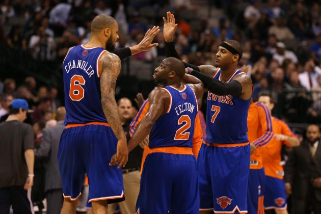 Breaking Down the New York Knicks' Pecking Order