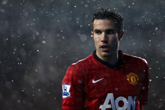 Robin van Persie: Stat Breakdown for Manchester United Star's 2012-13 Campaign