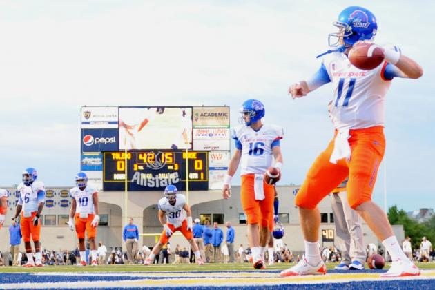 Boise State Football: Comparing Joe Southwick's 1st Year vs. Kellen Moore's