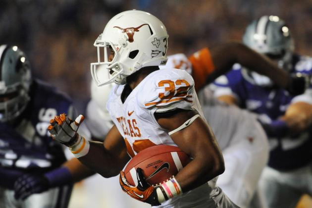 Texas Football: 5 Reasons Johnathan Gray Will Be UT's Next Great RB