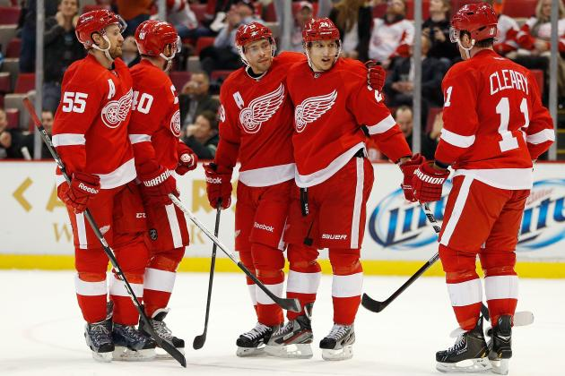 Detroit Red Wings: Predicting Stats for the Top 10 Players in 2013 Season