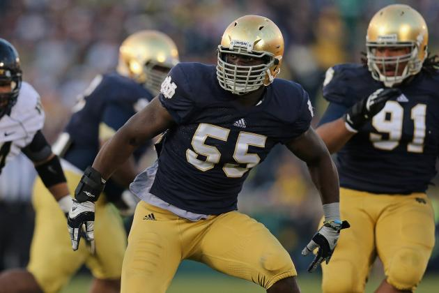 Notre Dame Football: Most Important Returning Players for Irish in 2013