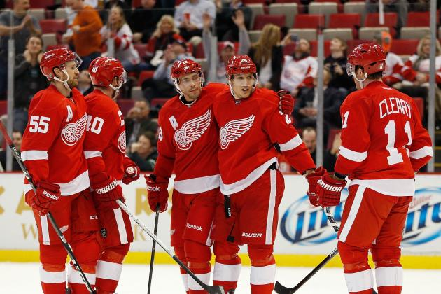 Early Season Progress Report for the Detroit Red Wings