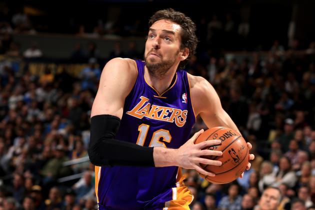 5 NBA Teams That Should Pursue Lakers' Pau Gasol