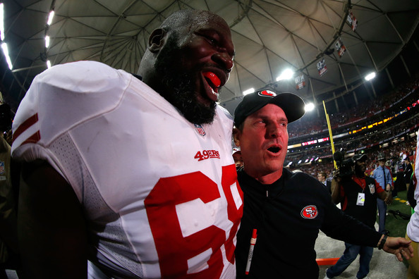 Super Bowl XLVII: The Largest and Smallest Players for Both Ravens and 49ers