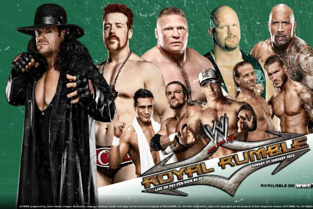 WWE Royal Rumble 2013: Preview and Predictions from B/R's Evolution