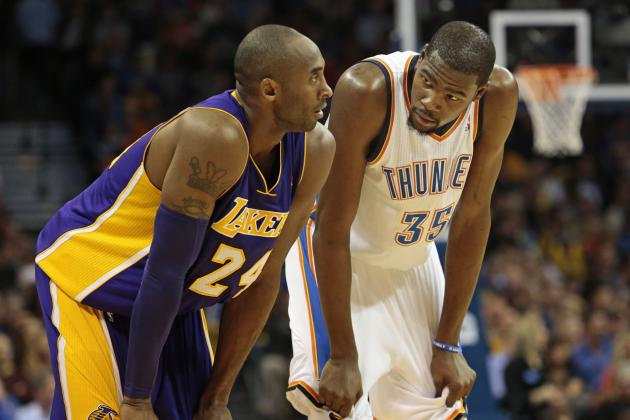 Complete Player Comparison for Kobe Bryant and Kevin Durant