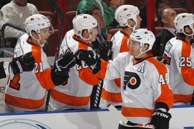 Positives and Negatives from the Start of the Philadelphia Flyers' 2013 Season